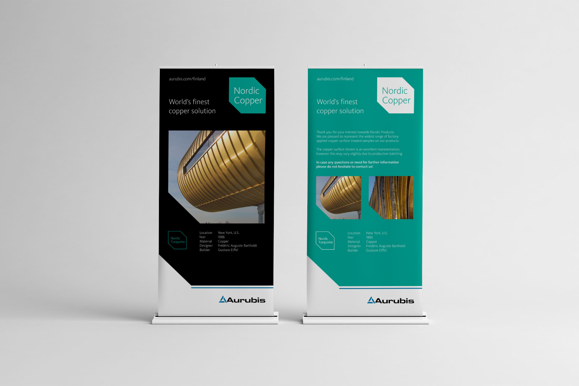 aurubis-nordic-copper display
