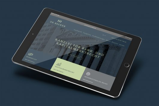 dr-becker-corporate-design webdesign