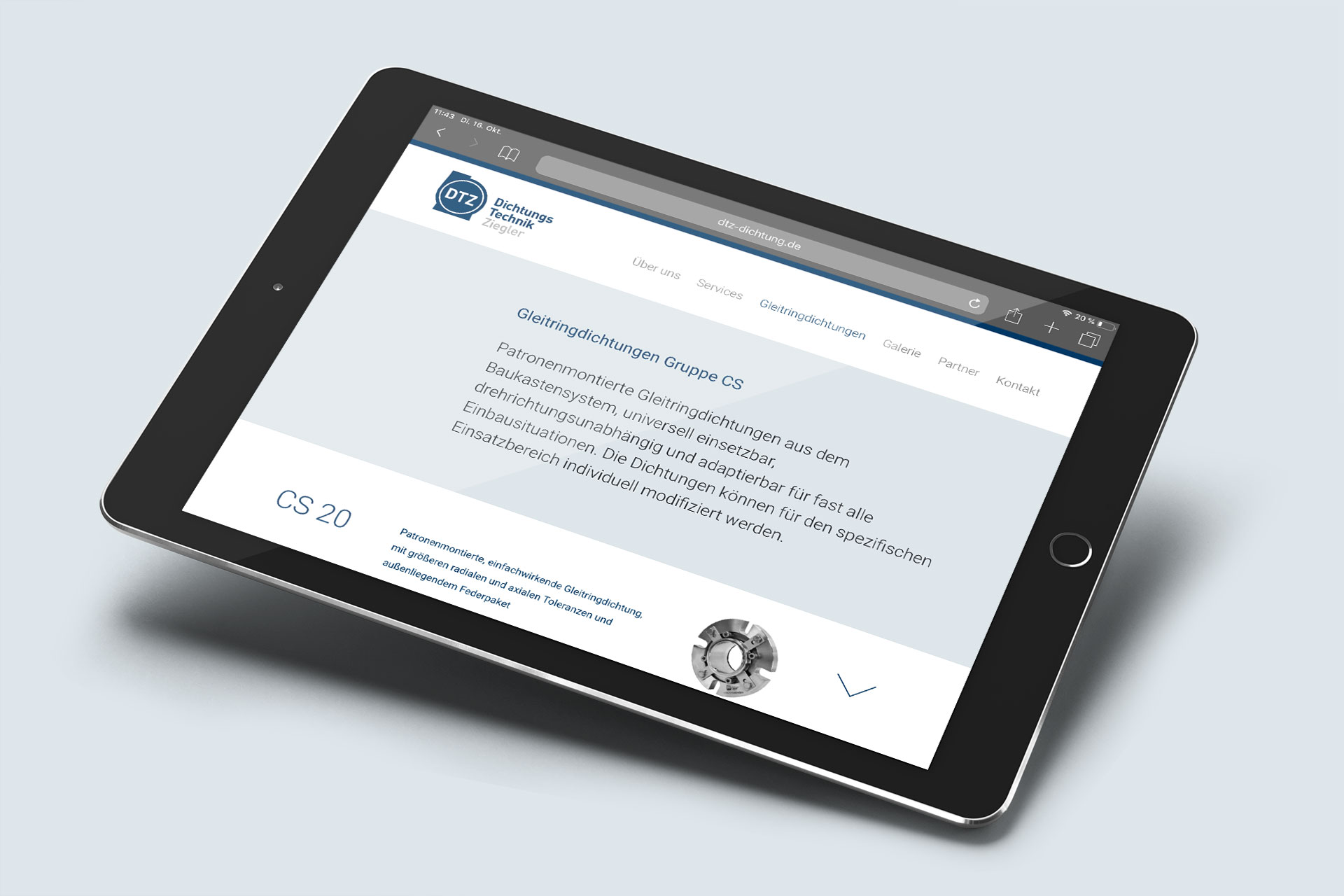 dtz-corporate-design webdesign