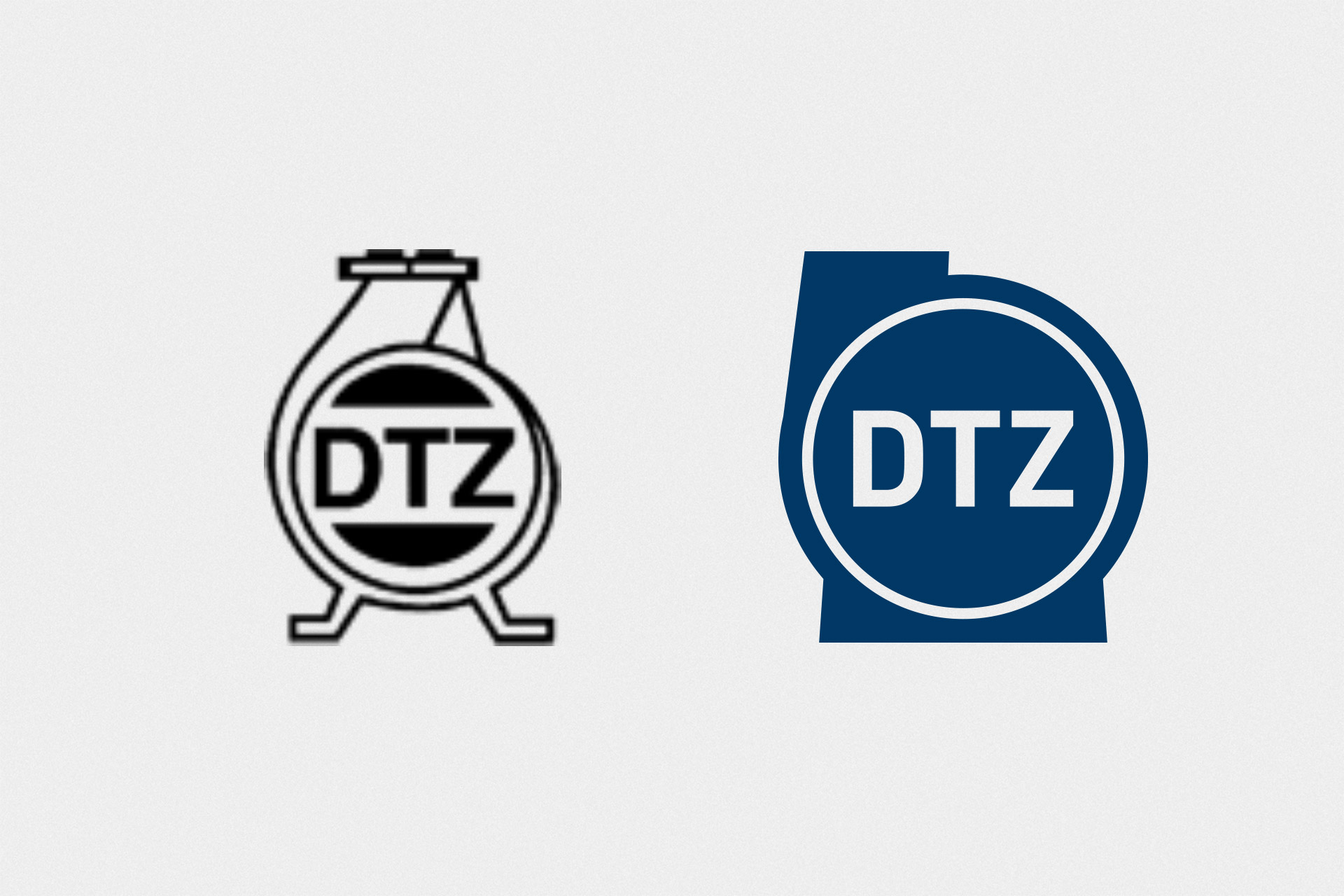 dtz-corporate-design logo design