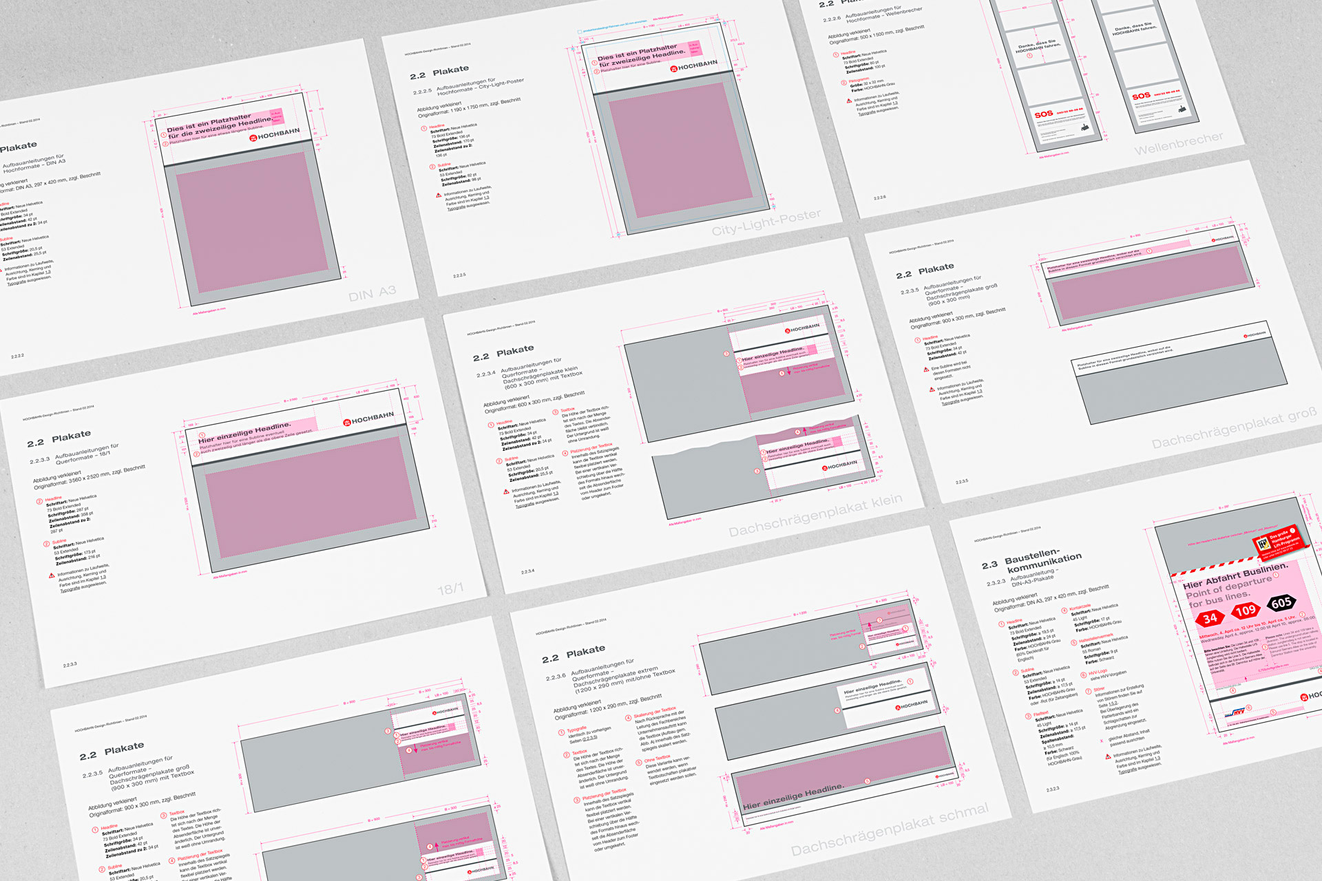 hochbahn-corporate-design manualseiten