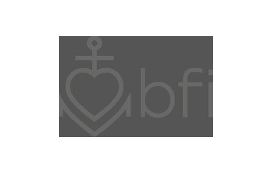 Corporate Design für bfi inkasso, Beispiel Logodesign