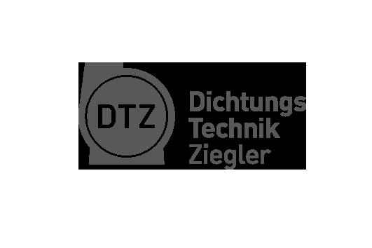 Corporate Design für DTZ, Beispiel Logodesign