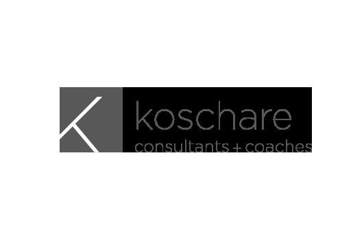 Corporate Design für koschare, Beispiel Logodesign