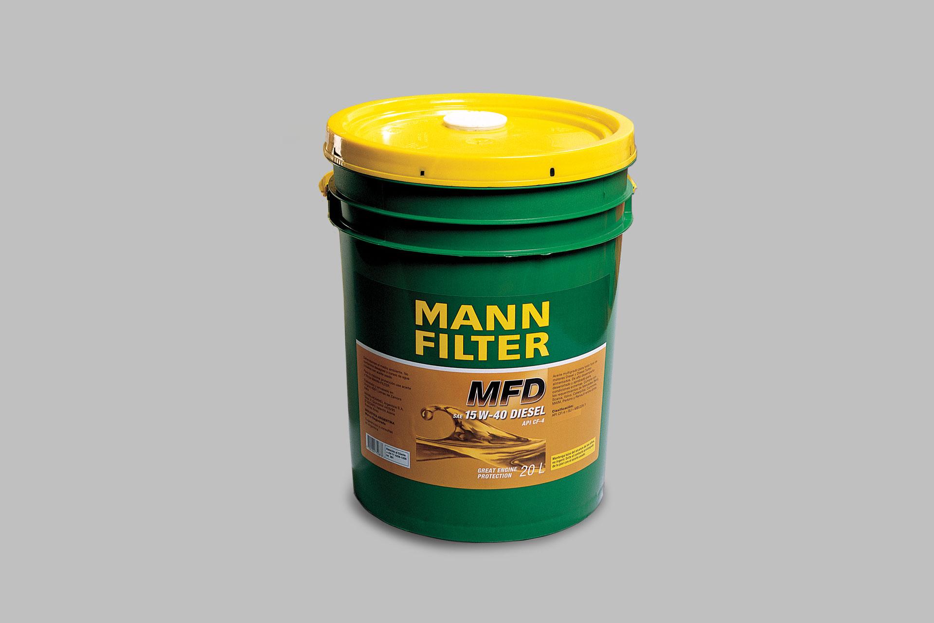 Verpackungsdesign für MANN-FILTER, Beispiel Verpackungsdesign