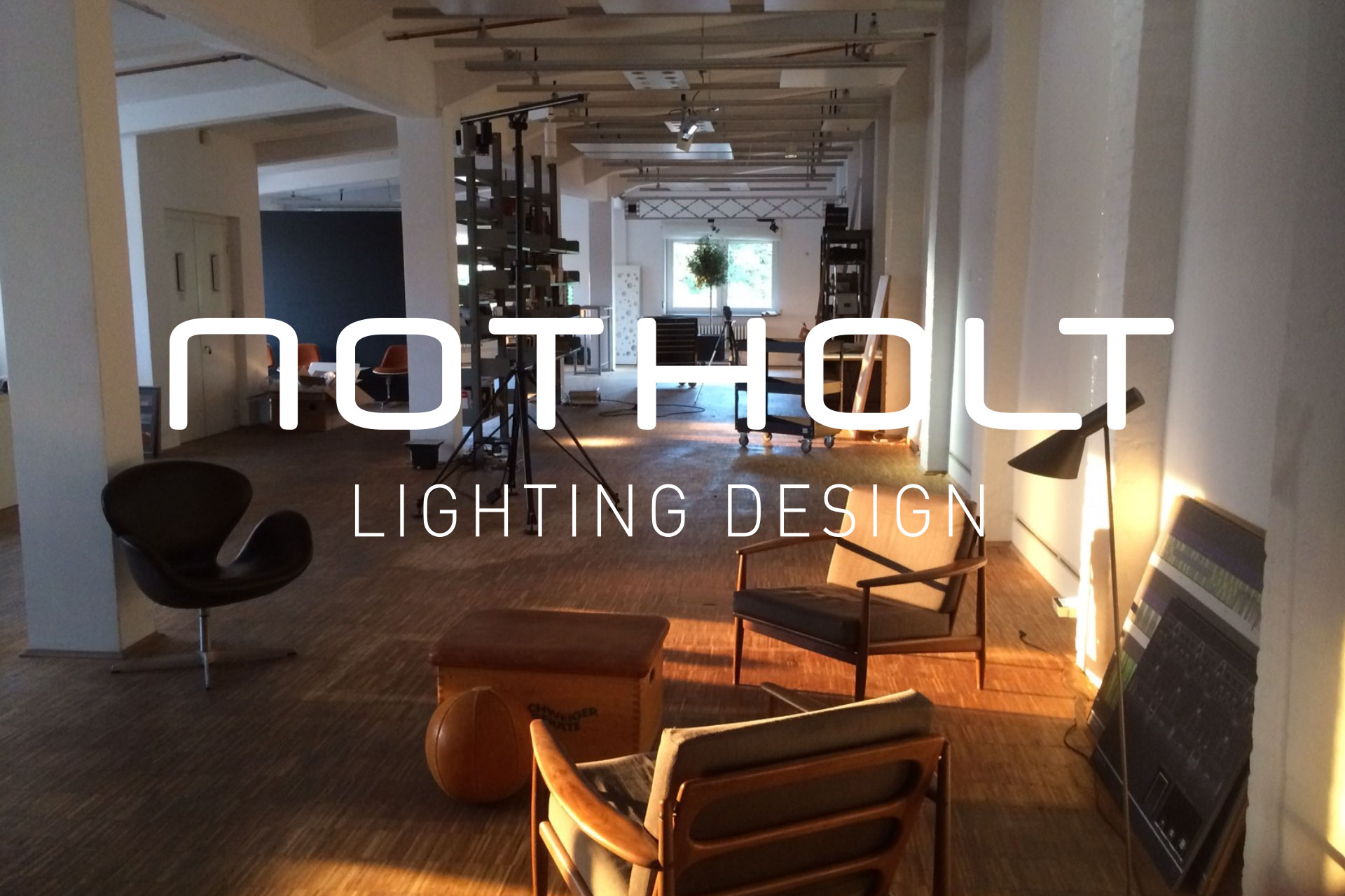 Corporate Design für notholt lighting design, Beispiel Logodesign