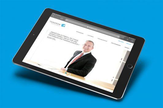 tangron-corporate-design webdesign