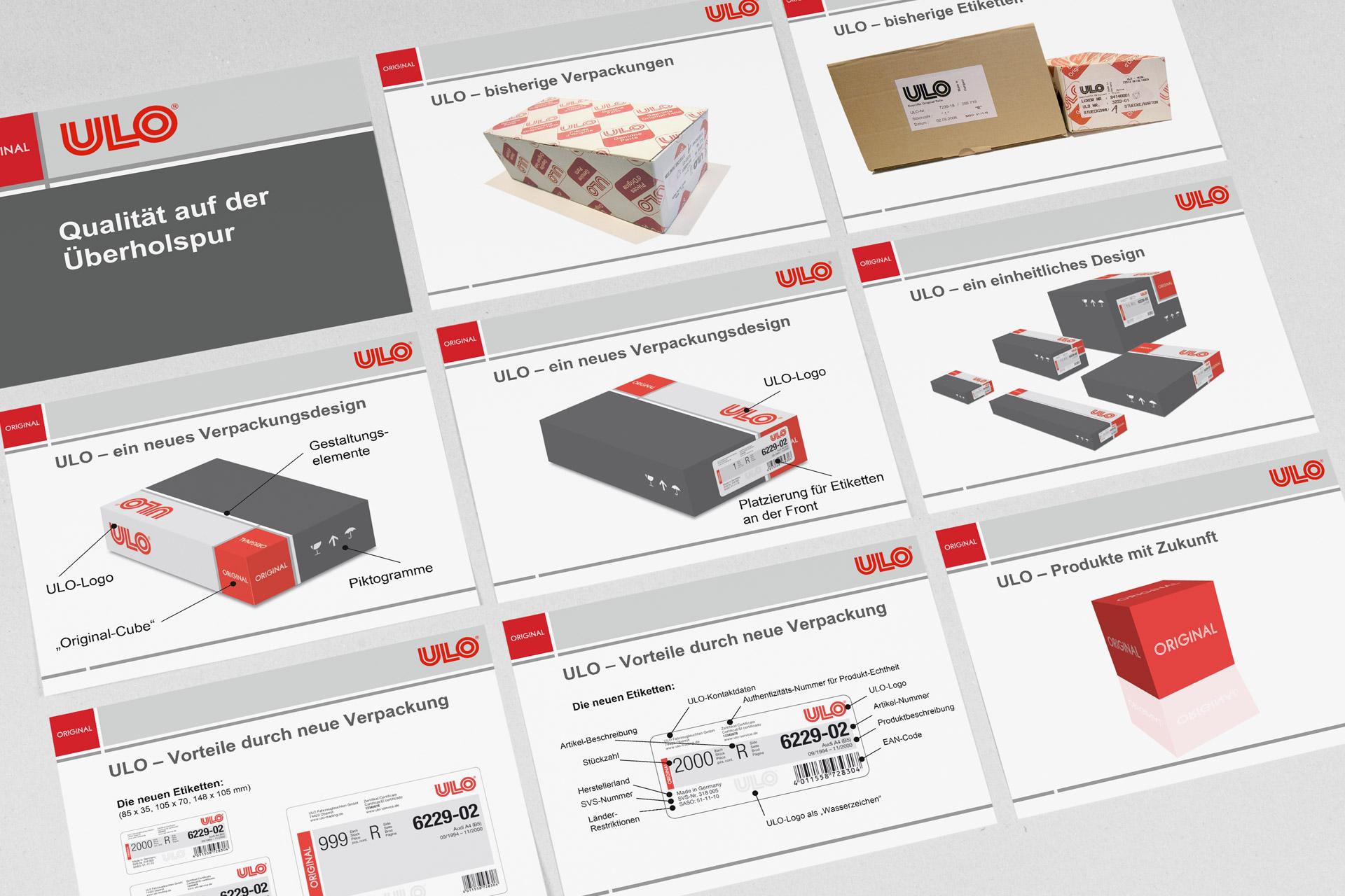ulo-verpackungsdesign powerpoint