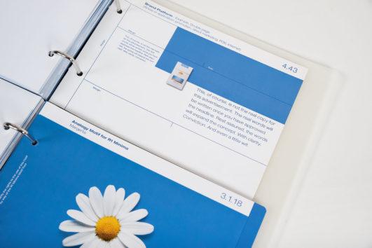Corporate Design für R1 Cigarettes, Beispiel Design Manual