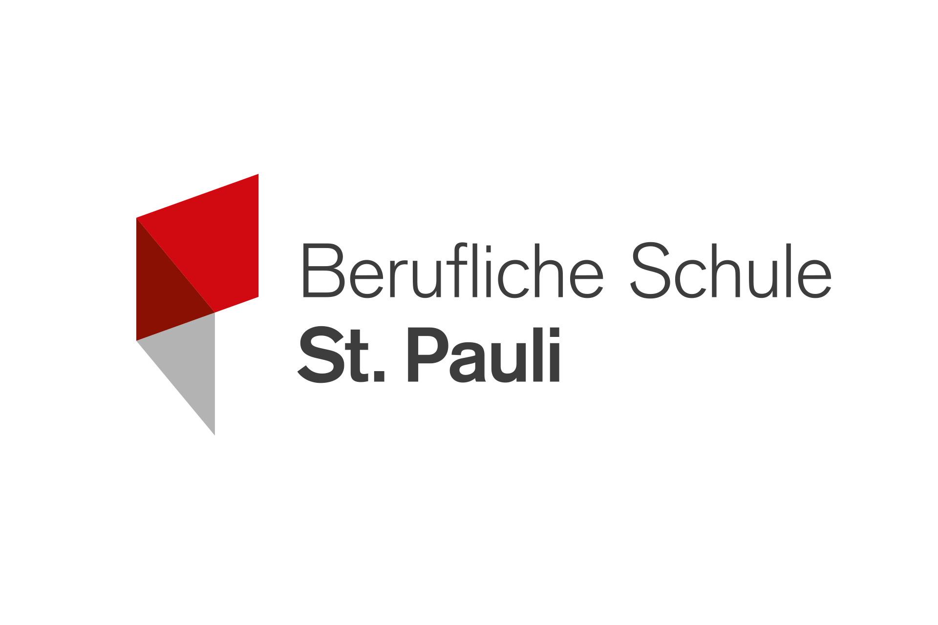 Corporate Design für Berufliche Schule St. Pauli, Beispiel Logodesign