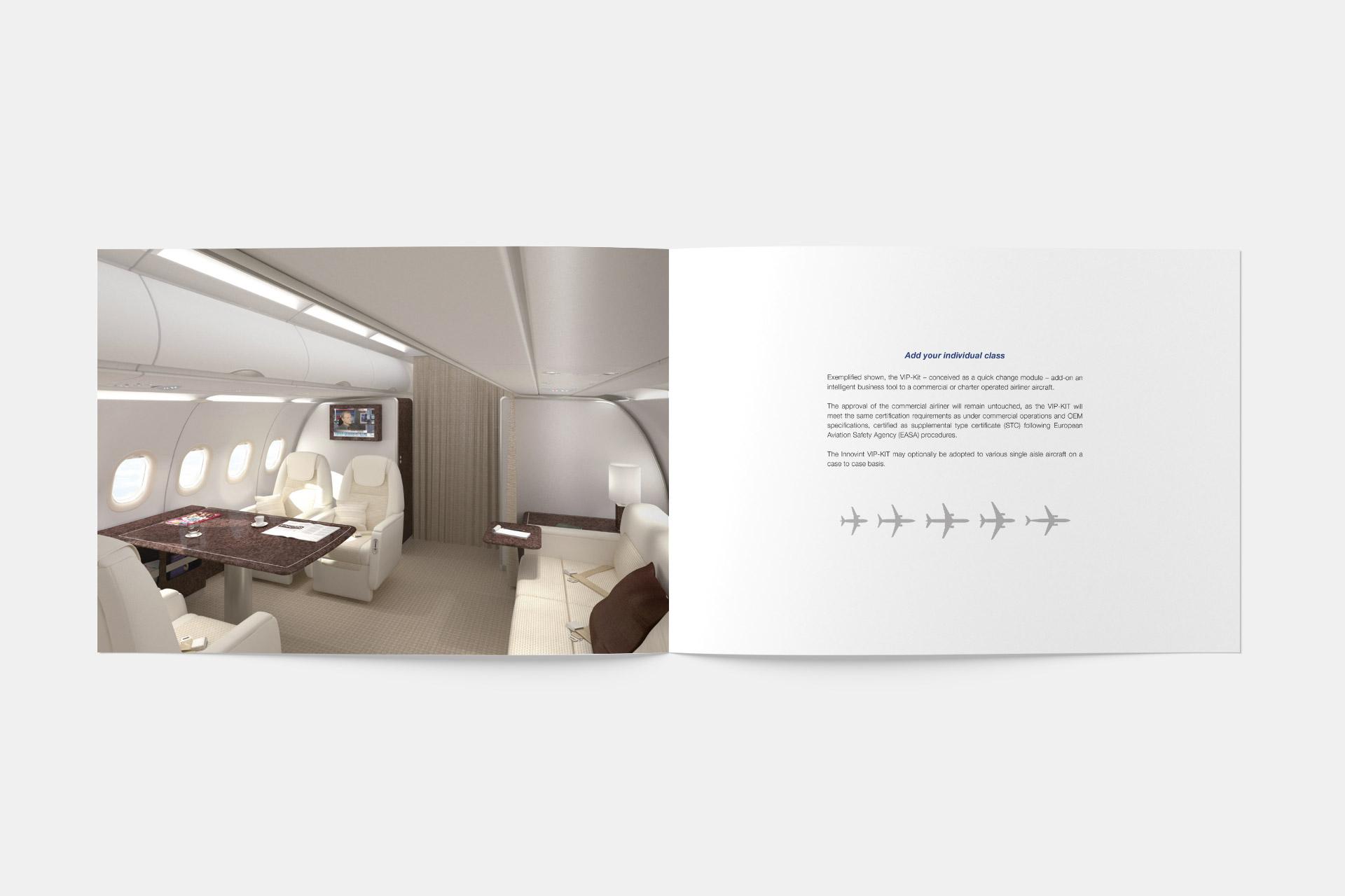 Corporate Design für Innovint, Beispiel Flyerdesign