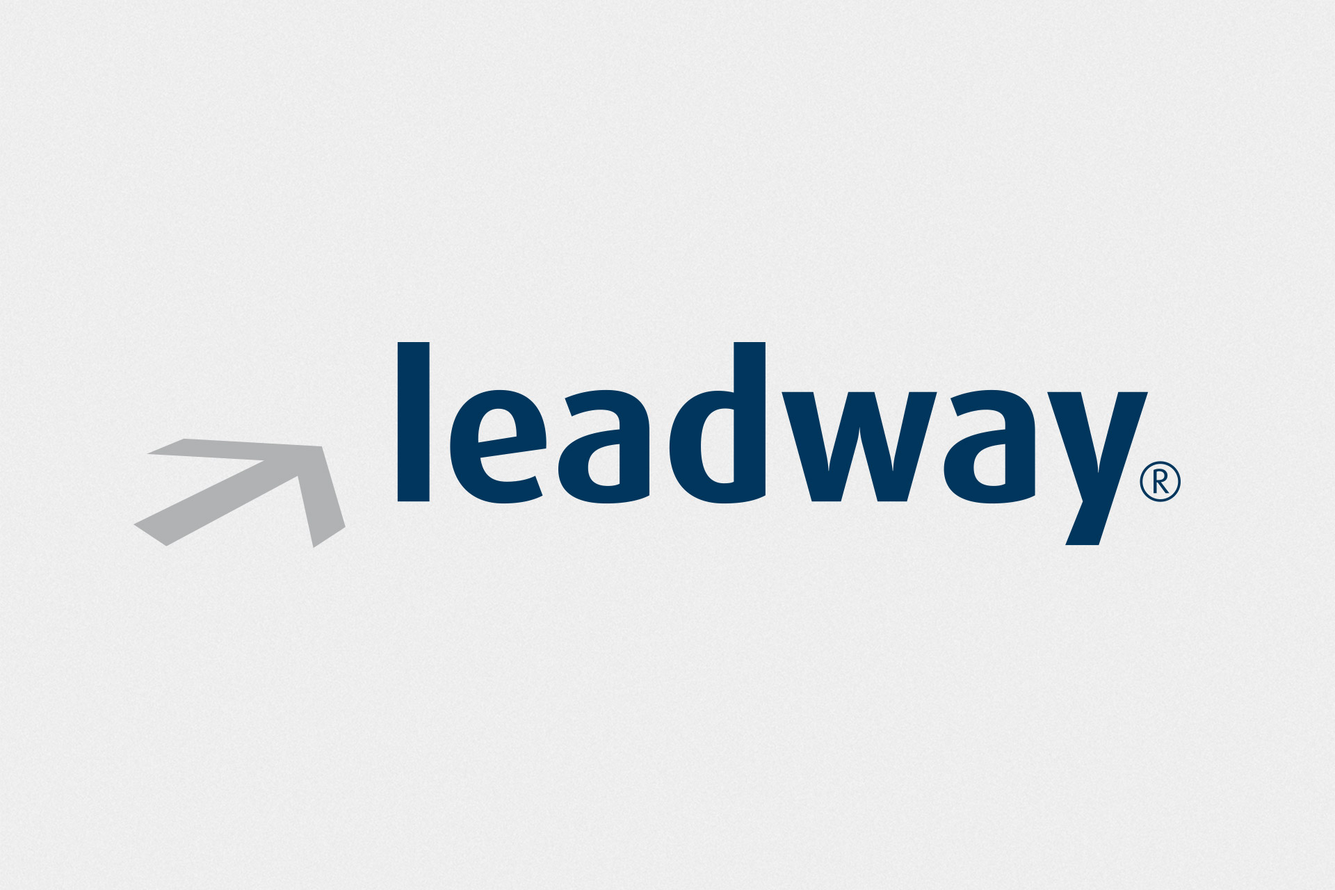 Corporate Design für Leadway, Beispiel Logodesign