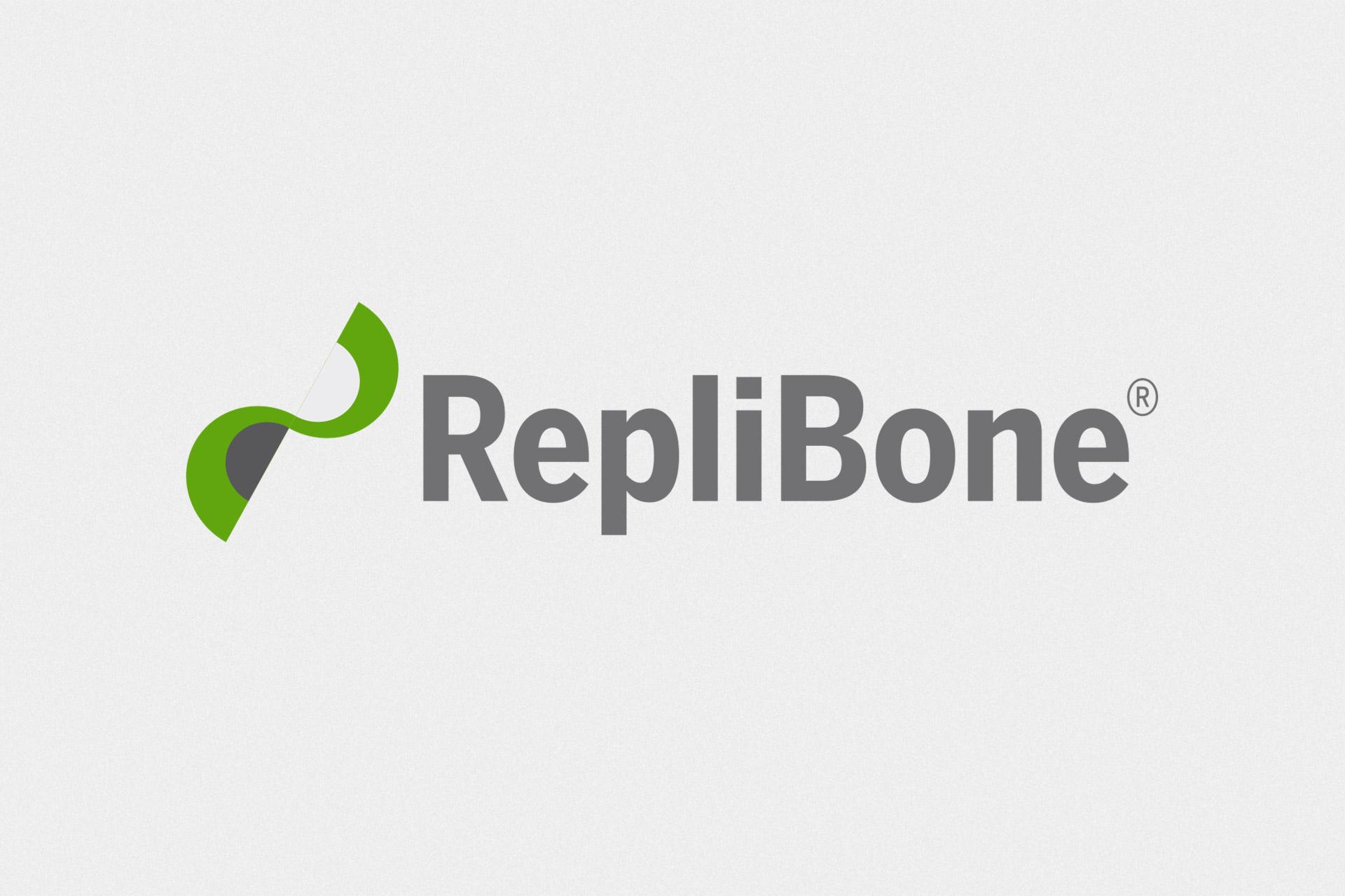 Corporate Design für Replibone, Beispiel Logodesign