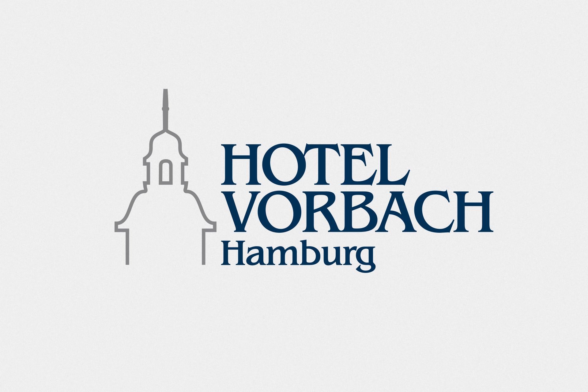 Corporate Design für das Hotel Vorbach, Beispiel Logodesign