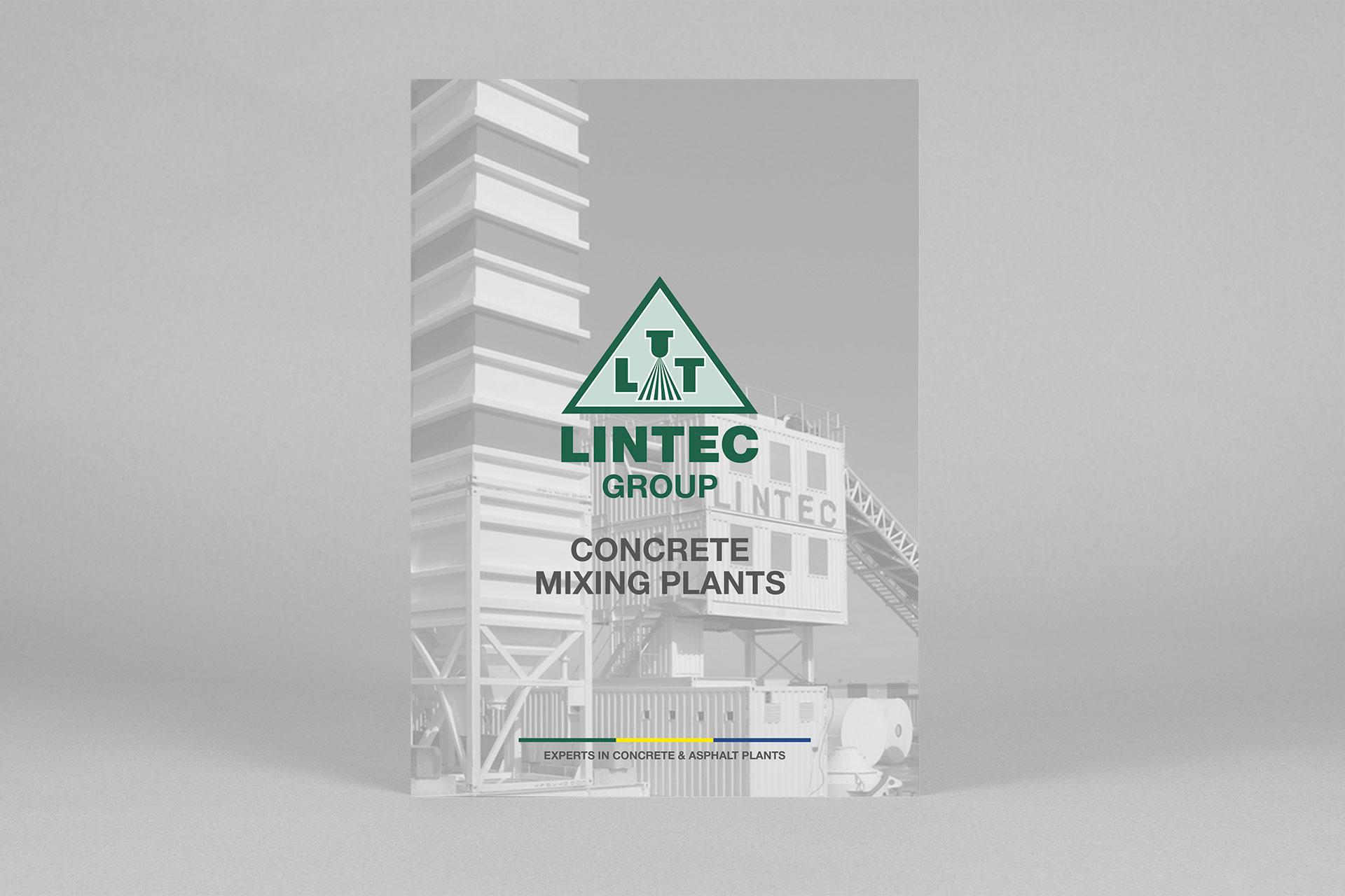 Lintec Group Coverdesign im Corporate Design