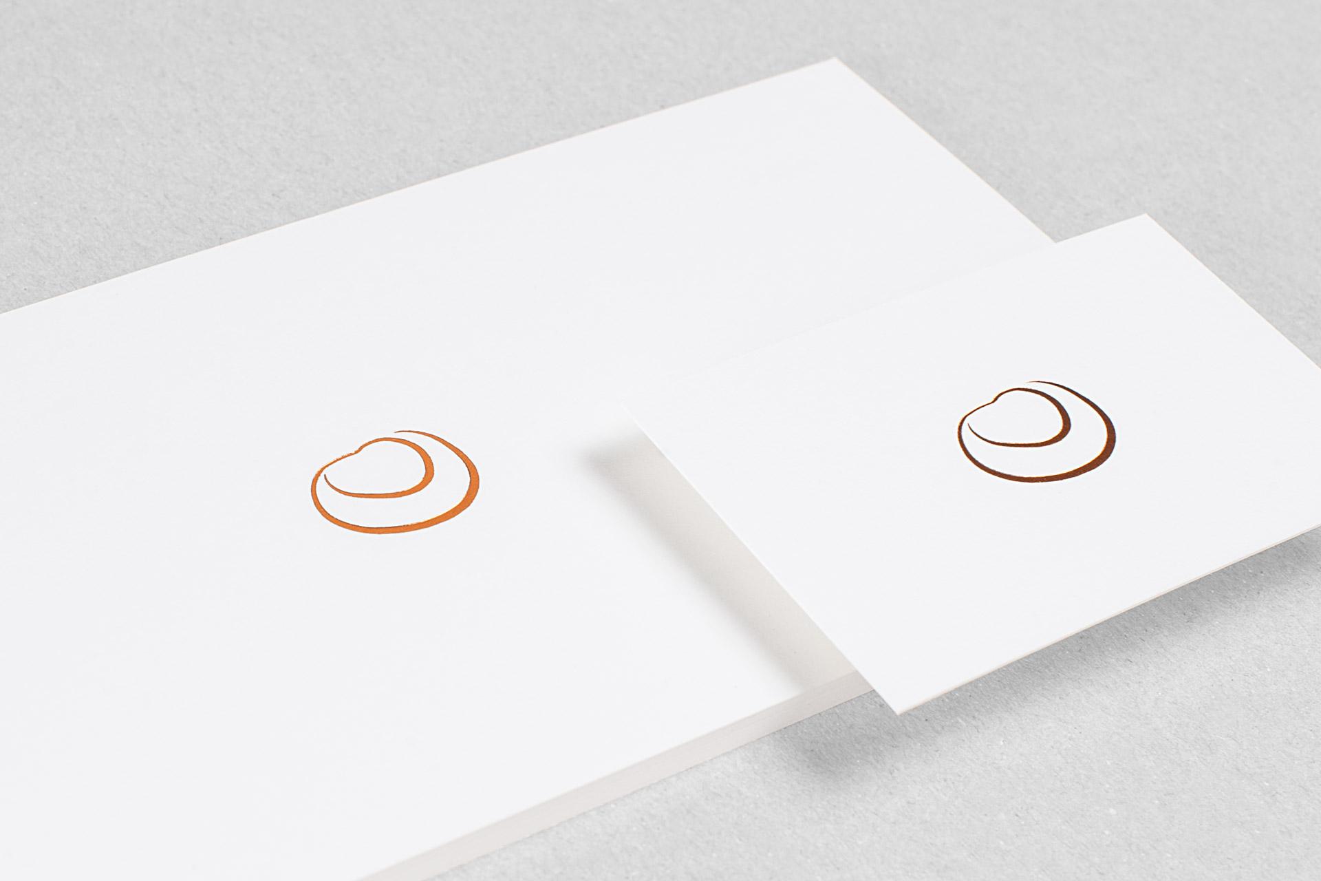 Corporate Design für Tina Weitzel, Beispiel Logodesign